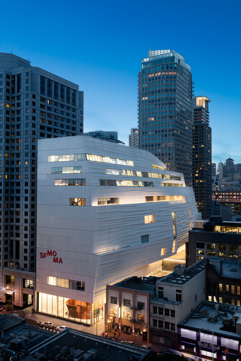 View of SFMOMA from Howard Street