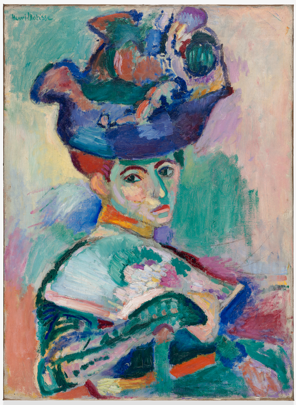Henri Matisse, Femme au chapeau (…